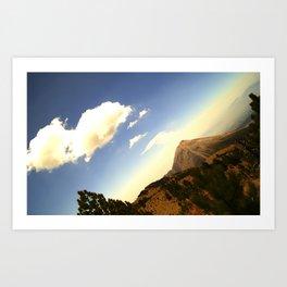Volcan de Colima Art Print