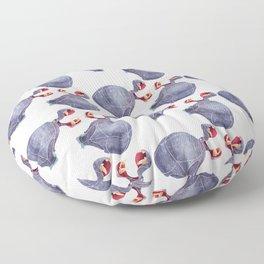 Hippopotamus Floor Pillow