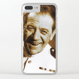 Sid James, Carry On Legend Clear iPhone Case