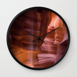 Slot Canyon Wall Clock