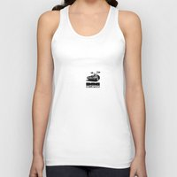 delorean Tank Tops featuring Delorean by SIMid