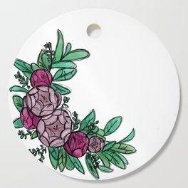 Roses Wreath Cutting Board