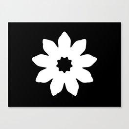 Vector Flower Canvas Print