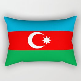 Azerbaijan country flag Rectangular Pillow