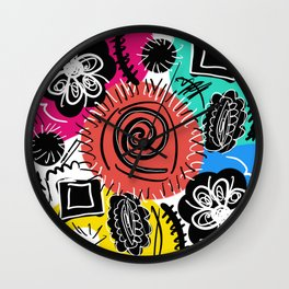 Shenanigans Wall Clock