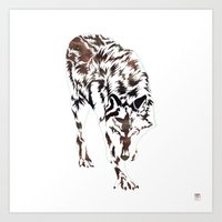 hunter x hunter Art Prints featuring Hunter by Stevyn Llewellyn