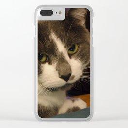 Tyson Boy Clear iPhone Case
