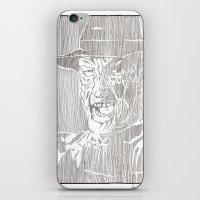 freddy krueger iPhone & iPod Skins featuring Freddy Krueger by Aaron Bir by Aaron Bir