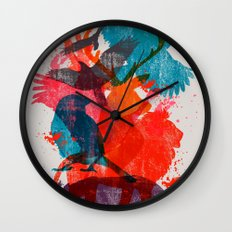 It's A Wild Thing Wall Clock