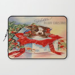Christmas puppy Laptop Sleeve