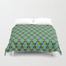 Tile Pattern 1 Duvet Cover