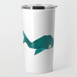 Origami Whale Travel Mug