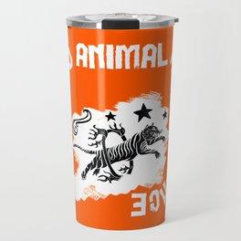 Say NO to Animal Performance – Tiger jump Travel Mug