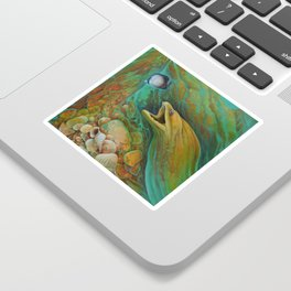 Naive Butterfly Sticker