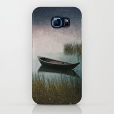 Midnight Paddle in Teal Indigo and Pink Slim Case Galaxy S8
