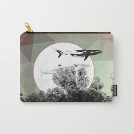 Underwater Abstract Fishes Design Carry-All Pouch