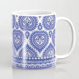 Decorative Blue Coffee Mug