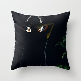 Behind the Scenes Throw Pillow