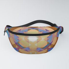 Square Explosion Fanny Pack