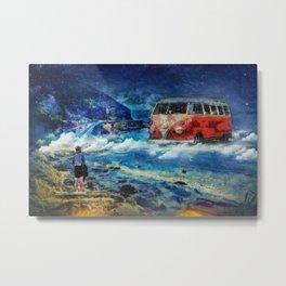 Road trip dream Metal Print