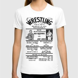 #3 Memphis Wrestling Window Card T-shirt