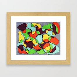 Blob Dreams Framed Art Print