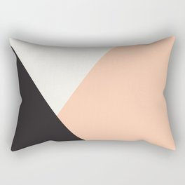 Getting Blocky Dark Rectangular Pillow