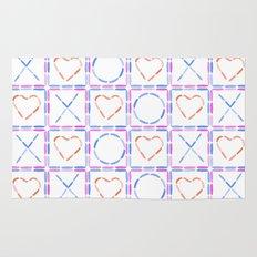Hearts XOX Rug