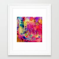 wander Framed Art Prints featuring Wander by Amy Sia