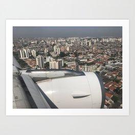 São Paulo From Above IV Art Print