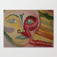 eternal sunshine Canvas Prints featuring Eternal Sunshine by Antonia Butti