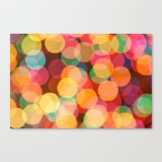 Bokehful Canvas Print