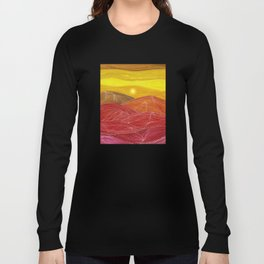 Lines in the mountains IX Long Sleeve T-shirt