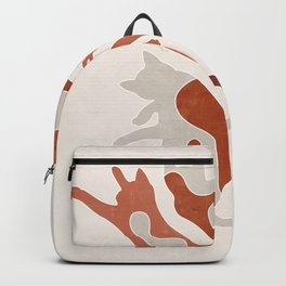 Abstract Lazy Cats Backpack