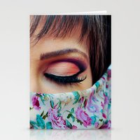 make up Stationery Cards featuring Make Up by Eduard Leasa Photography