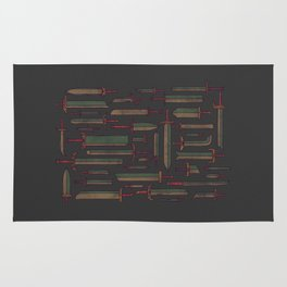 Bunch of Blades Rug