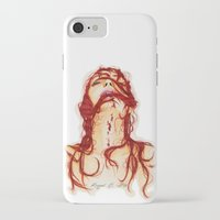 blood iPhone & iPod Cases featuring Blood by Raquel C. Hita - Sednae