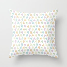 1000 Paper Cranes Throw Pillow