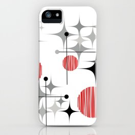 Starbursts and Globes 2A iPhone Case