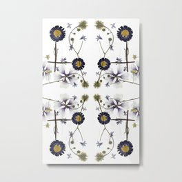 Purple Dazie Metal Print