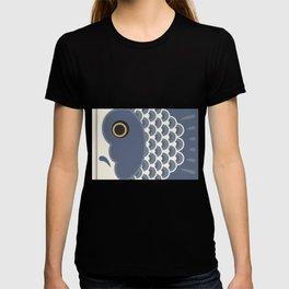 Koinobori   Grey T-shirt