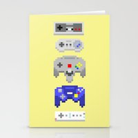 nintendo Stationery Cards featuring Nintendo by 8BOMB