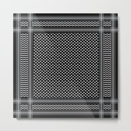 Inverted kofia Metal Print