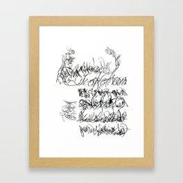 2ndpom Framed Art Print
