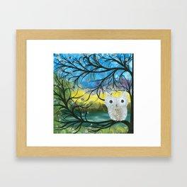 Owl Artwork By MiMi Stirn - Owl Expressions #363 Framed Art Print
