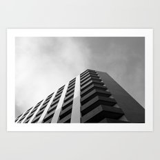 angular fade Art Print