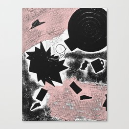 Death of Arthur Miller Canvas Print