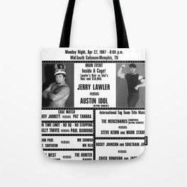 #10 Memphis Wrestling Window Card Tote Bag