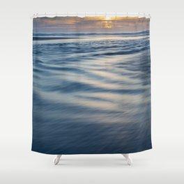 River Meets Sea Shower Curtain