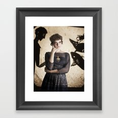 The Princess Who Never Smiled Framed Art Print